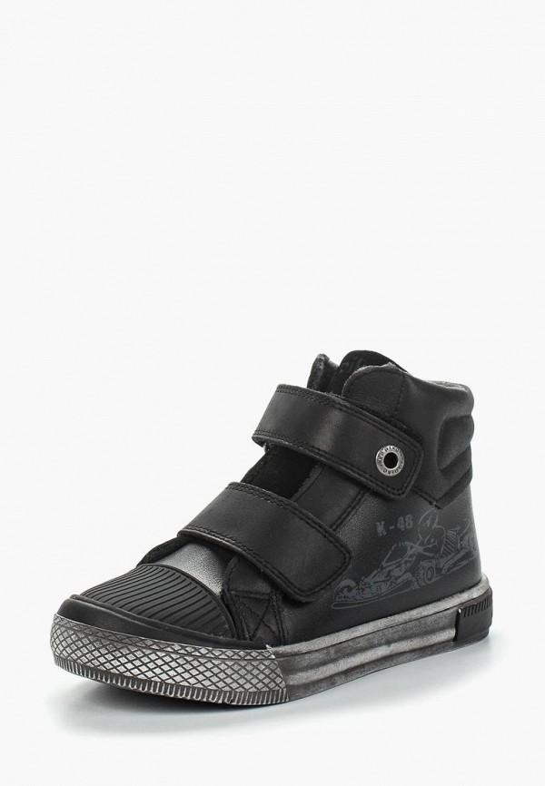 Купить Ботинки Kapika черного цвета