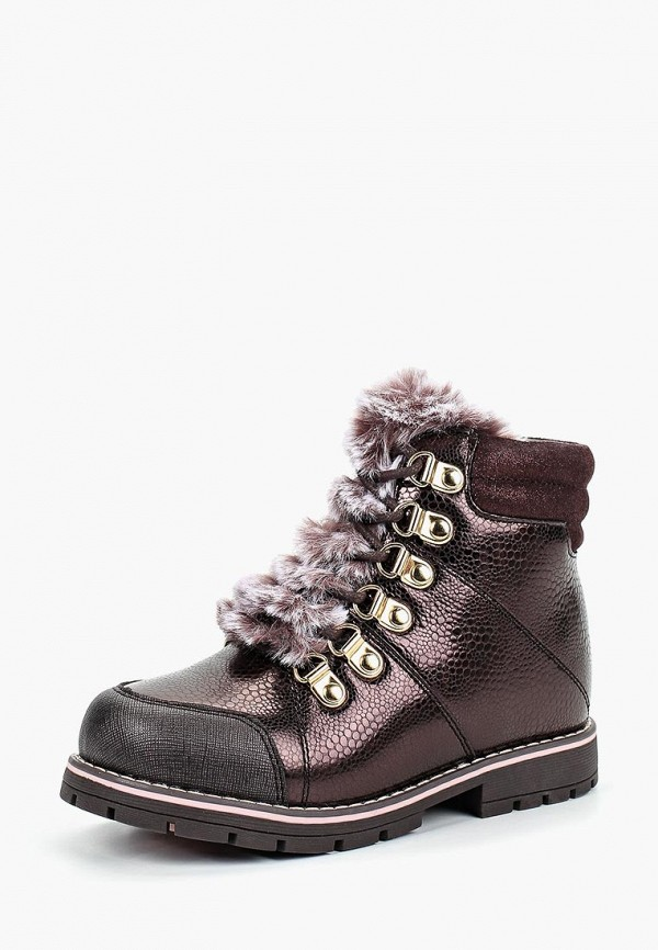Купить Ботинки Kapika, ka040abddmk3, коричневый, Осень-зима 2018/2019