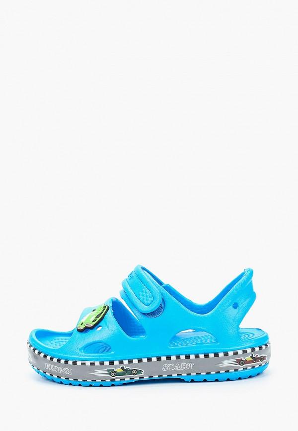 сандалии kapika для мальчика, голубые