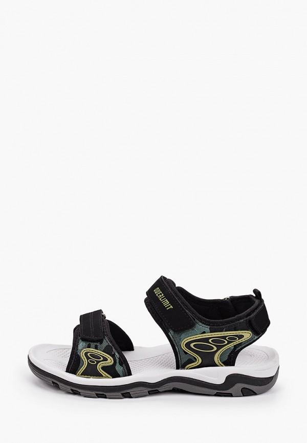 сандалии kapika для мальчика, черные