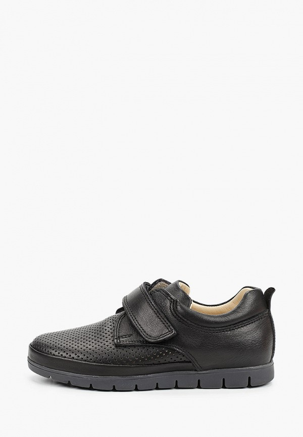 туфли kapika для мальчика, черные