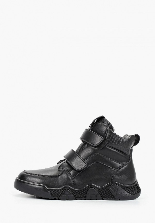 ботинки kapika для мальчика, черные
