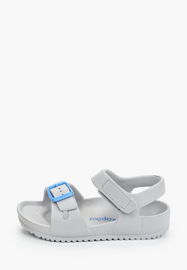 сандалии kapika для мальчика, серые