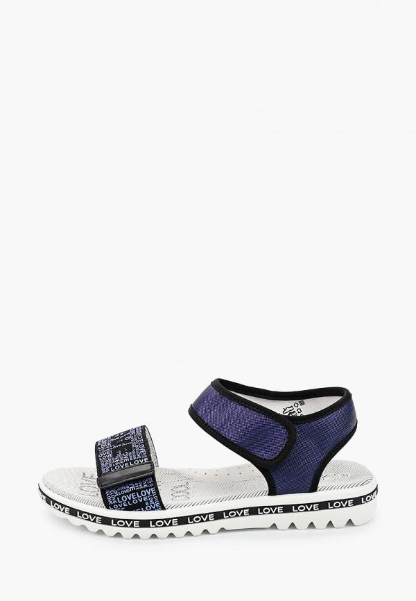 сандалии kapika для девочки, синие