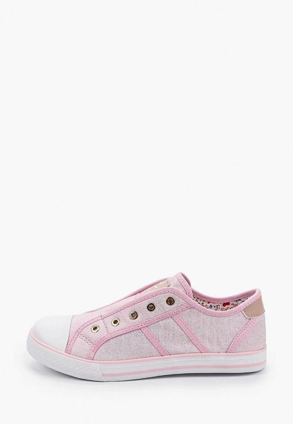 кеды kapika для девочки, розовые