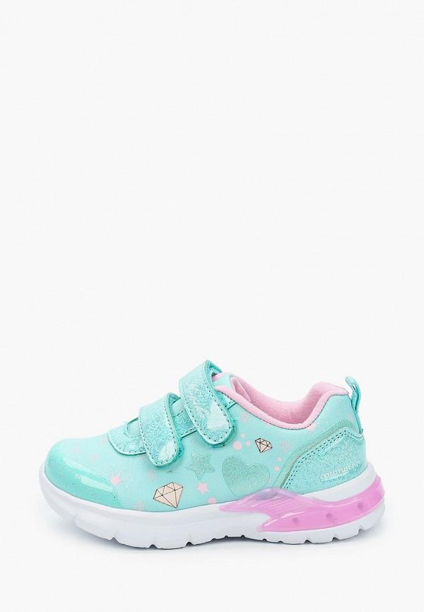 кроссовки kapika для девочки, бирюзовые