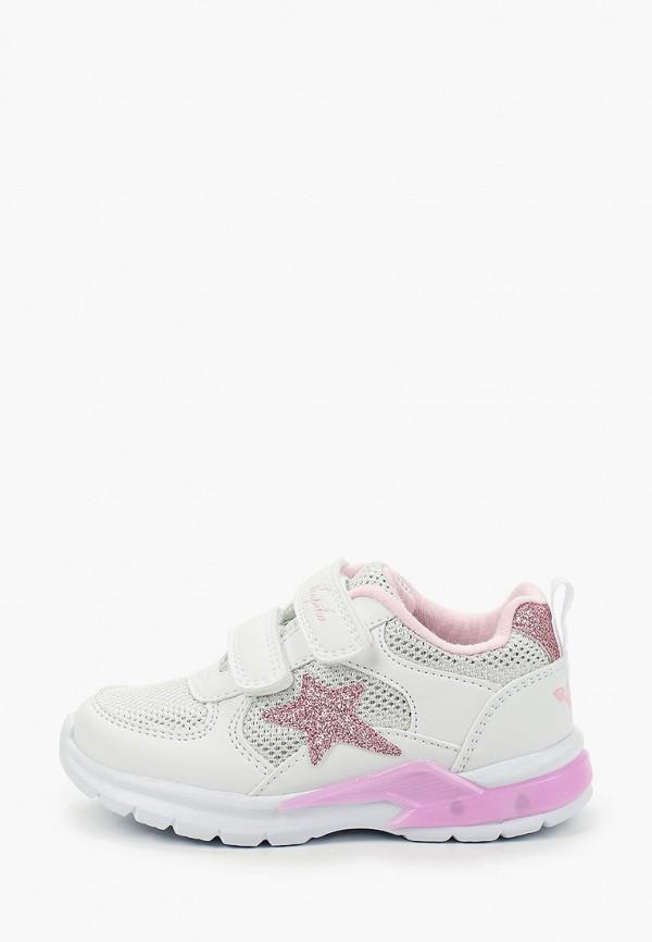 кроссовки kapika для девочки, белые