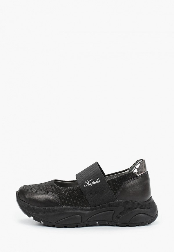 кроссовки kapika для девочки, черные