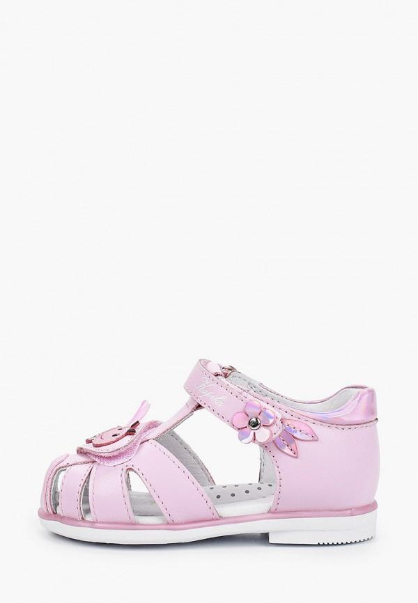 сандалии kapika для девочки, розовые
