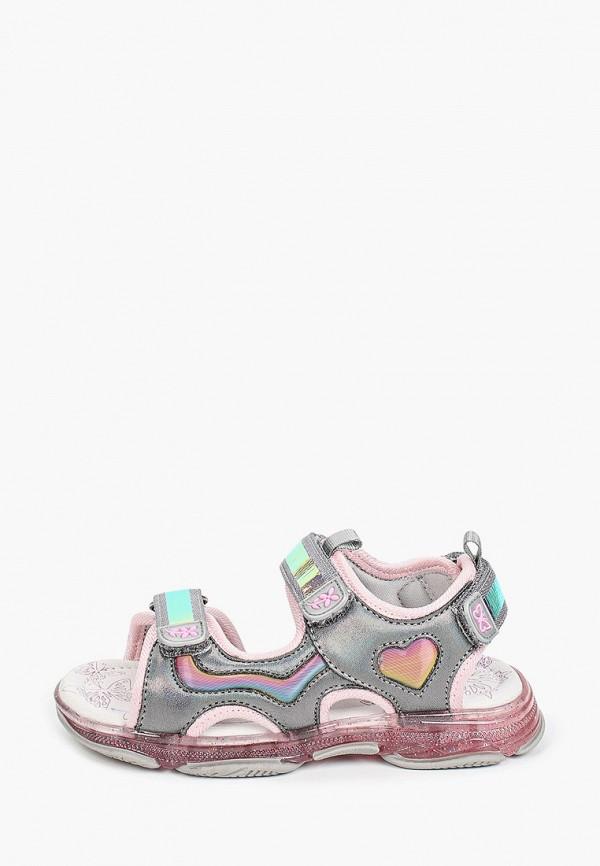 сандалии kapika для девочки, серые