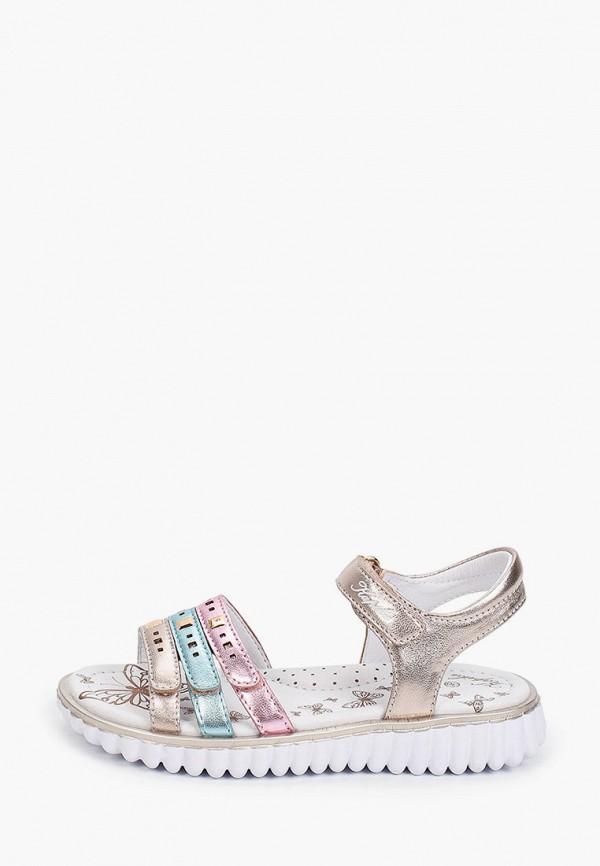сандалии kapika для девочки, золотые