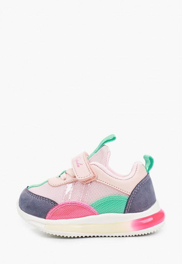 кроссовки kapika для девочки, разноцветные