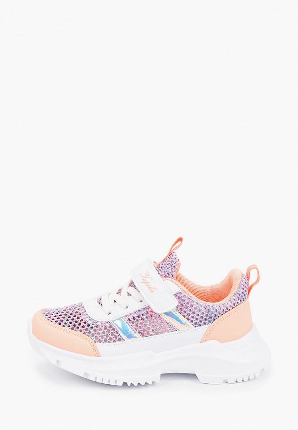 кроссовки kapika для девочки, фиолетовые