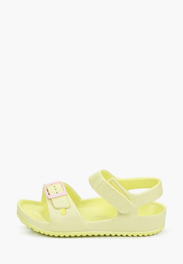сандалии kapika для девочки, желтые