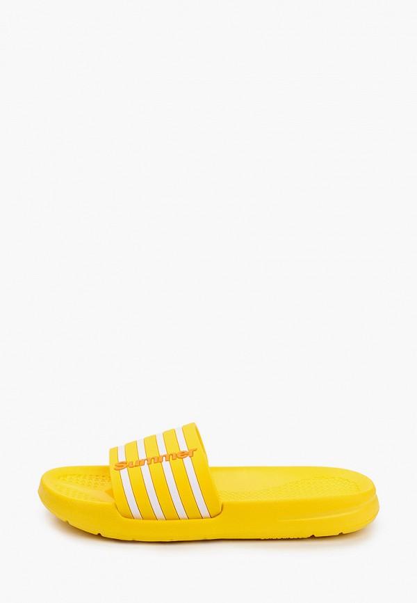 сланцы kapika для девочки, желтые