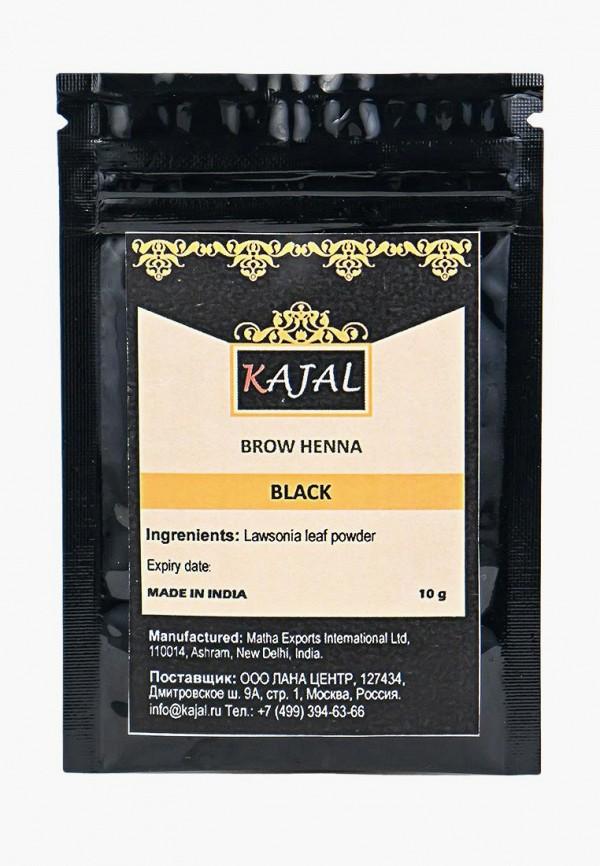 женский тени для бровей kajal, черный