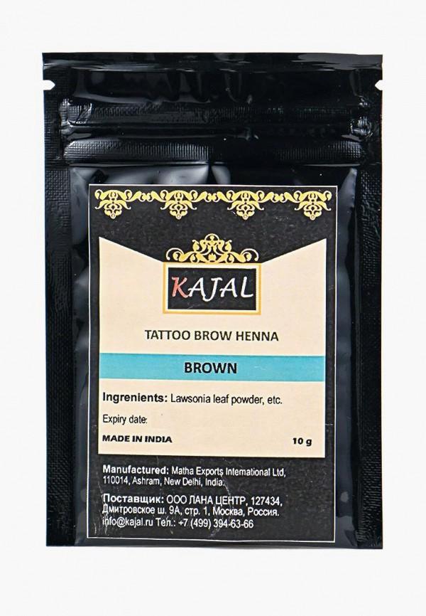 тени для бровей kajal, коричневый