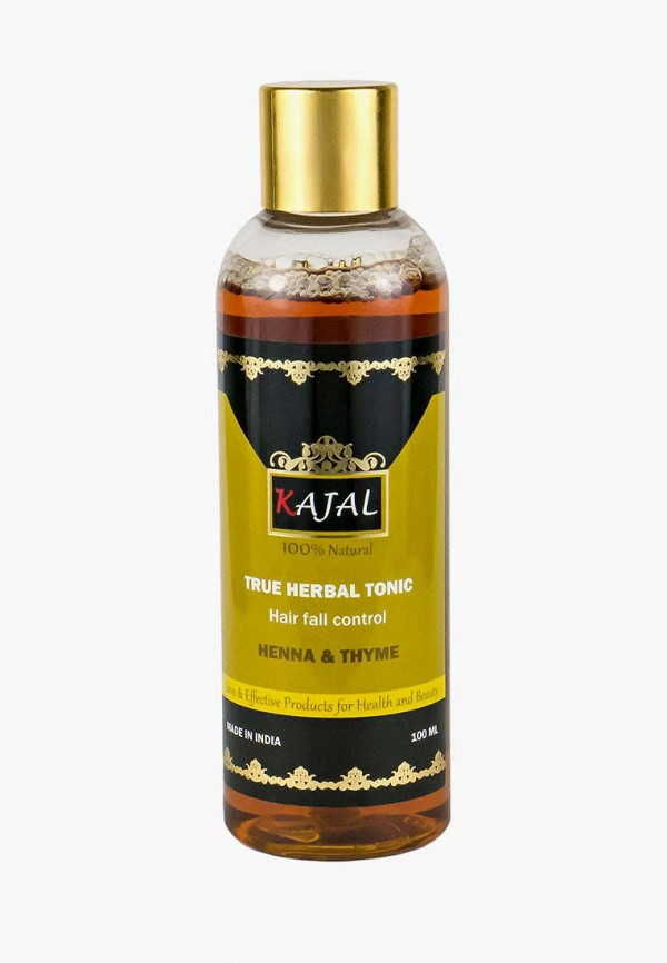 Купить Лосьон для волос Kajal, Травяной Хна и Тимьян (без спирта), 100 мл, ka041lwaypk5, коричневый, Осень-зима 2018/2019