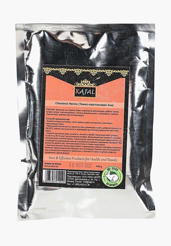 Купить Хна для волос Kajal, (темно-каштановая) 100 г, ka041lwbzsg8, коричневый, Осень-зима 2018/2019
