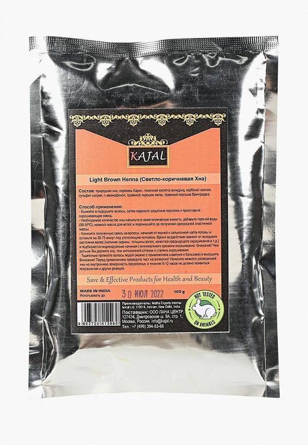 Купить Хна для волос Kajal, (светло-коричневая) 100 г, KA041LWBZSH3, коричневый, Осень-зима 2018/2019