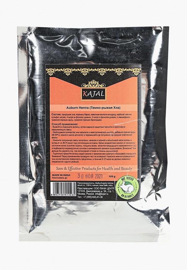 Купить Хна для волос Kajal, (темно-рыжая) 100 г, KA041LWBZSH6, коричневый, Осень-зима 2018/2019