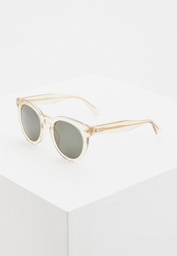 женские солнцезащитные очки kate spade, бежевые