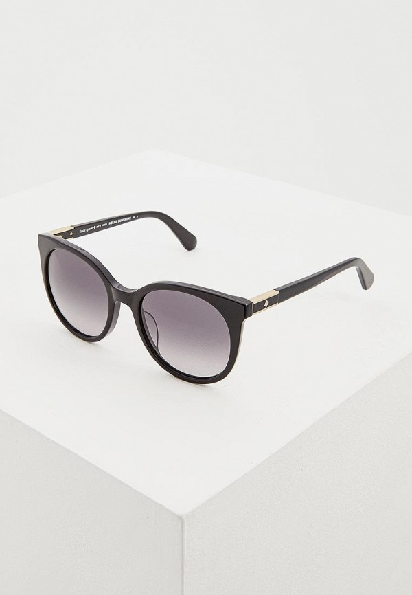 женские солнцезащитные очки kate spade, черные