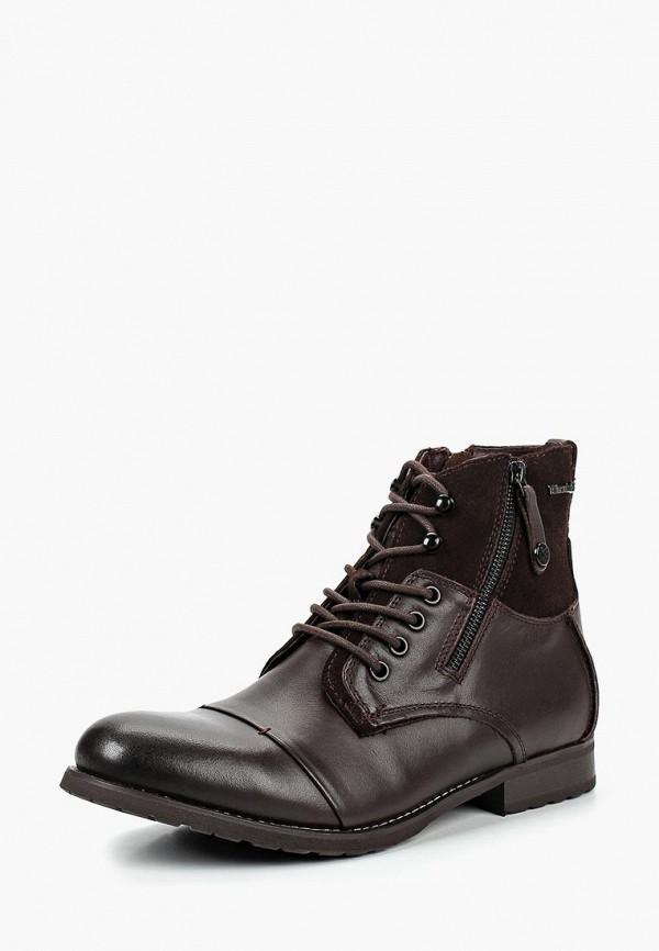 Купить Ботинки Kazar, ka044amdghf0, коричневый, Весна-лето 2019