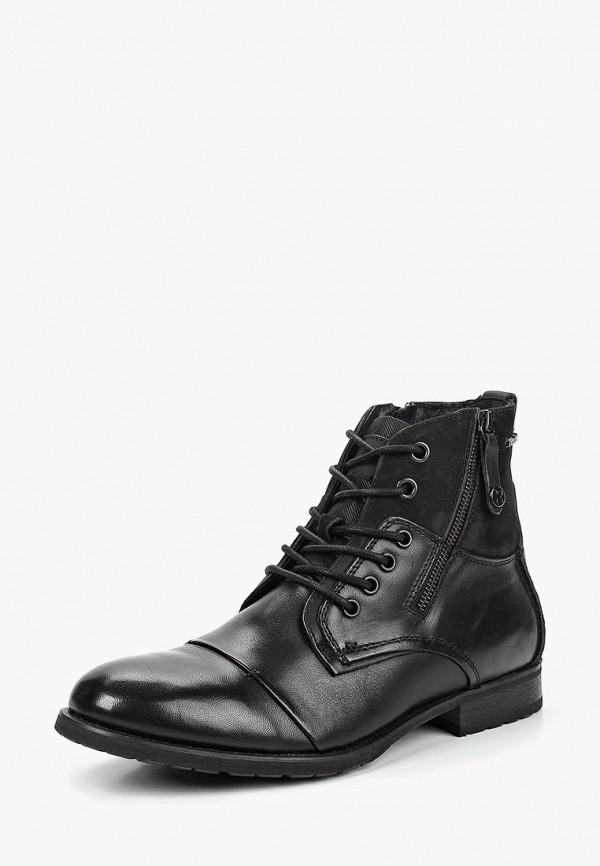 Купить Ботинки Kazar, ka044amdghf2, черный, Весна-лето 2019