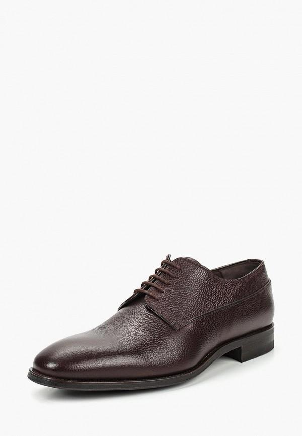 мужские туфли kazar, коричневые
