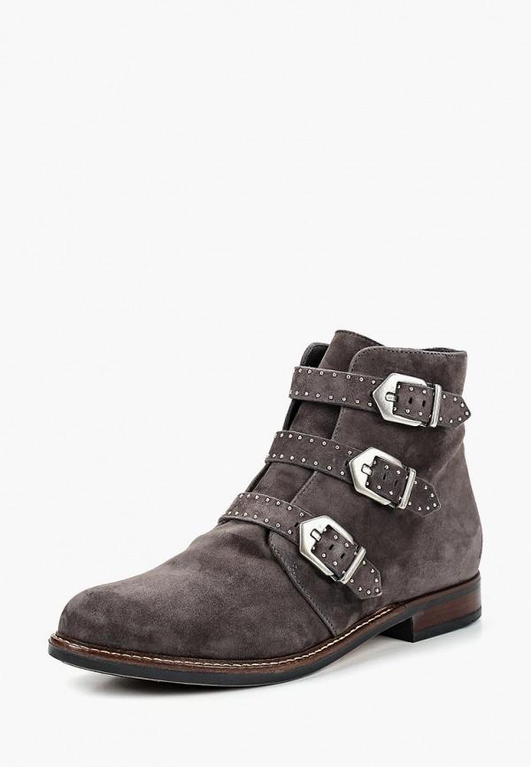 женские ботинки kazar, серые