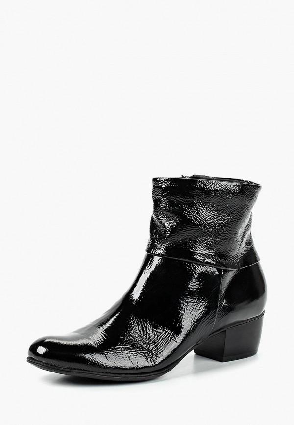 Купить Ботинки Kazar, ka044awdggx8, черный, Весна-лето 2019