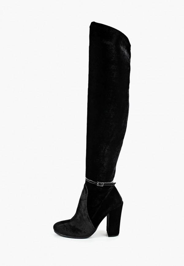 женские ботфорты kazar, черные