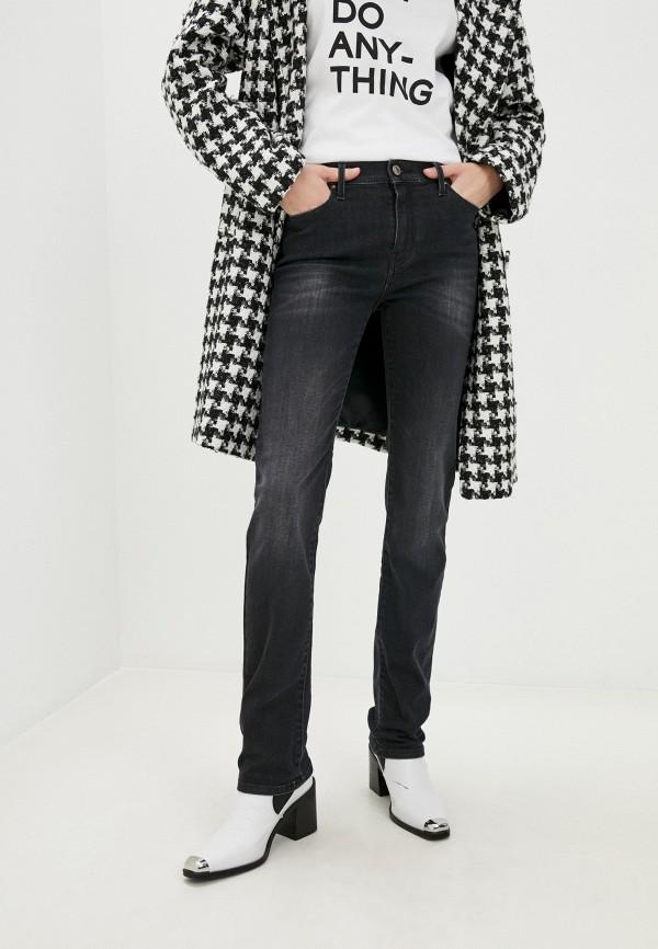 женские джинсы karl lagerfeld denim, серые
