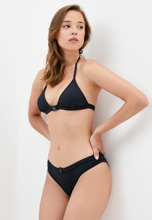 женский лиф karl lagerfeld beachwear, черный