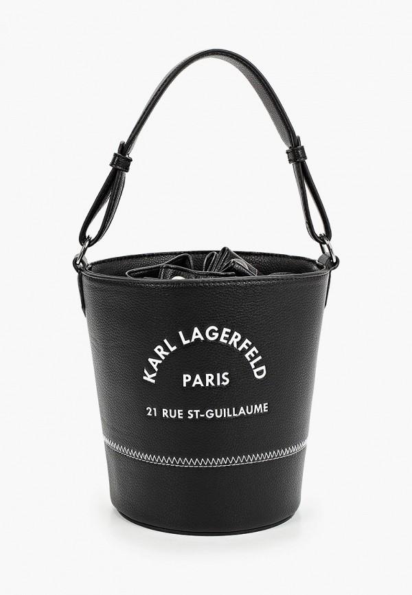 Сумка Karl Lagerfeld Kids Karl Lagerfeld Kids Z10087 черный фото