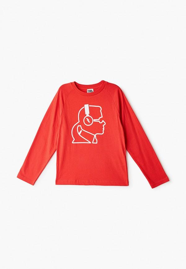 Лонгслив для мальчика Karl Lagerfeld Kids Z25211