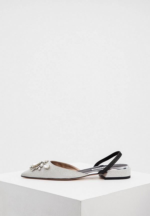 женские туфли kalliste, серебряные