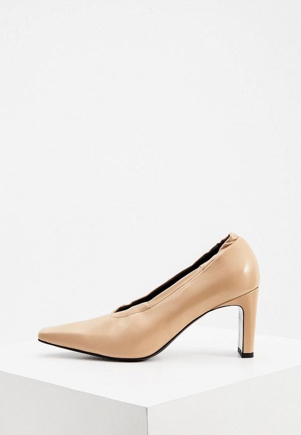 женские туфли с закрытым носом kalliste, бежевые