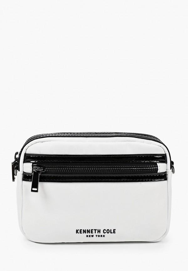 женская сумка kenneth cole, белая