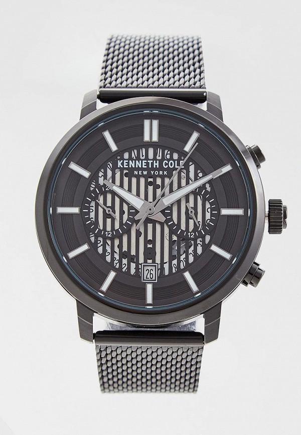 мужские часы kenneth cole, черные