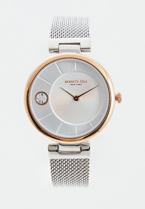 женские часы kenneth cole, серебряные