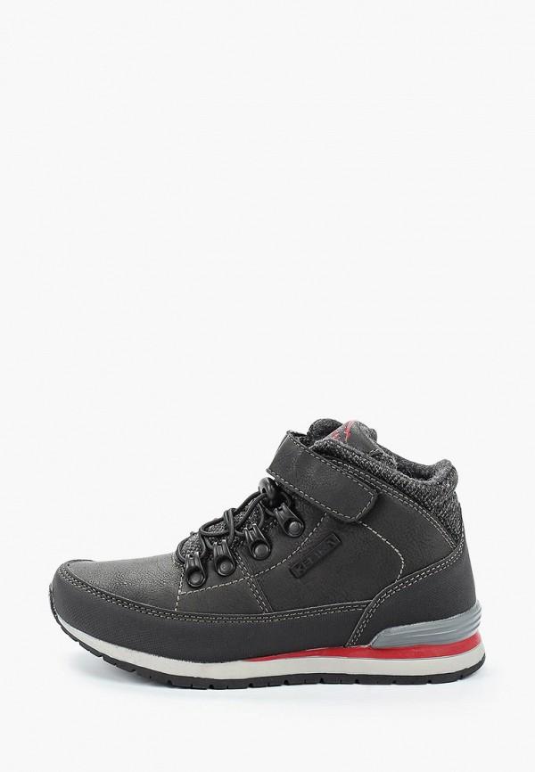 ботинки kenka для мальчика, черные