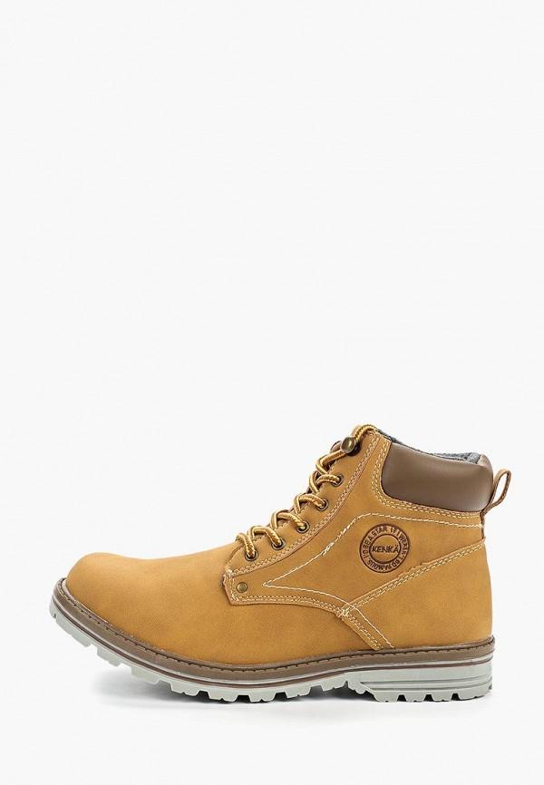 ботинки kenka для мальчика, бежевые