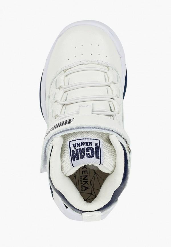 Кроссовки для мальчика Kenkä IQR_209-1_white Фото 4