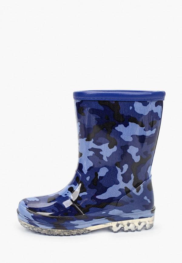 резиновые сапоги kenka для мальчика, синие