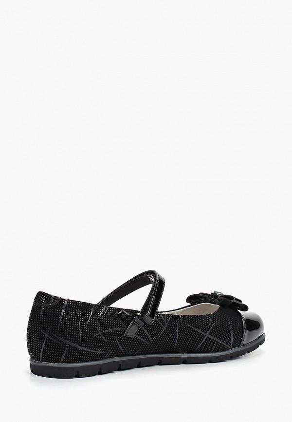 Туфли для девочки Kenka BRL_339-13_black Фото 2