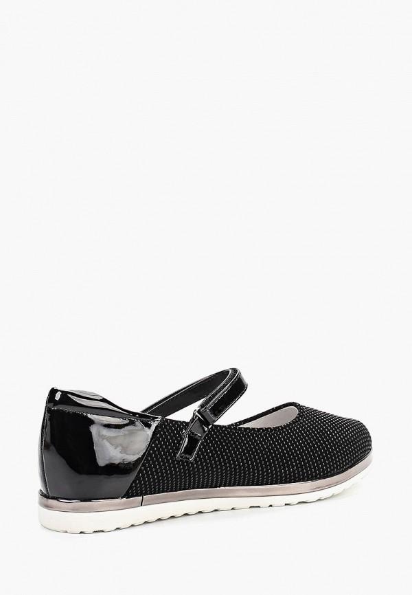 Туфли для девочки Kenka MUC_390-129_black Фото 2