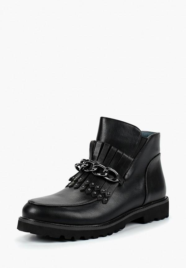 Ботинки для девочки Kenka TAF_9268-73_black k