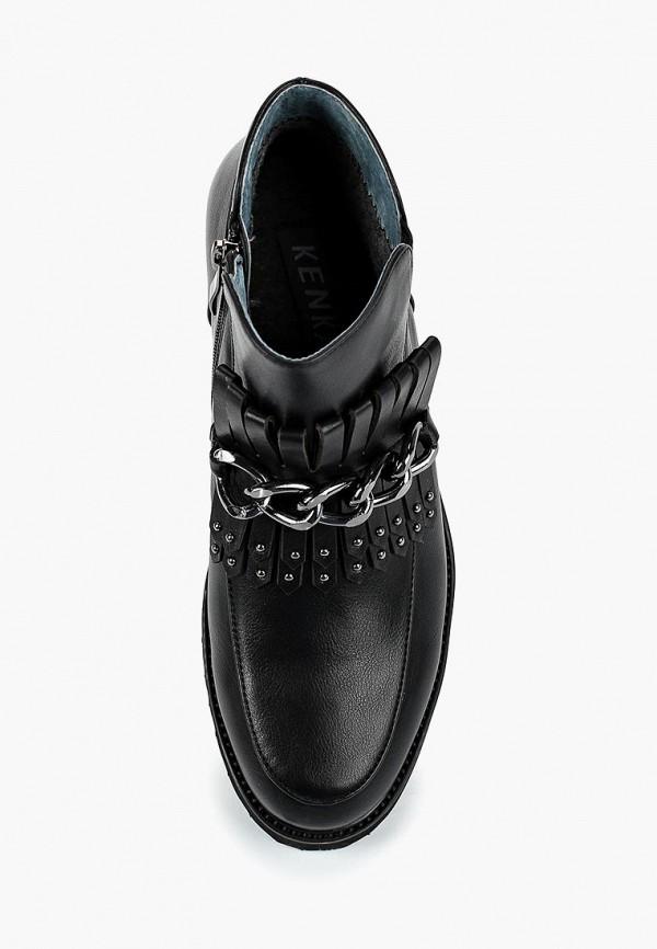 Ботинки для девочки Kenka TAF_9268-73_black k Фото 4